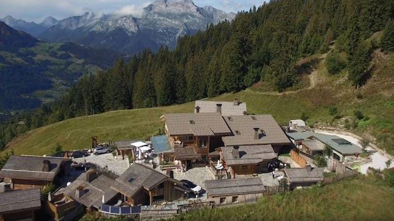 La Maison des Bois, près de Grenoble dans les Alpes françaises. Pic: marcveyrat.fr