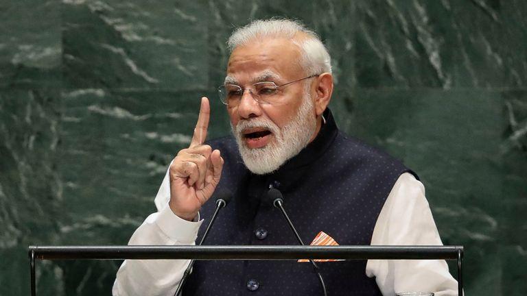 Narendra Modi s'adresse à l'ONU