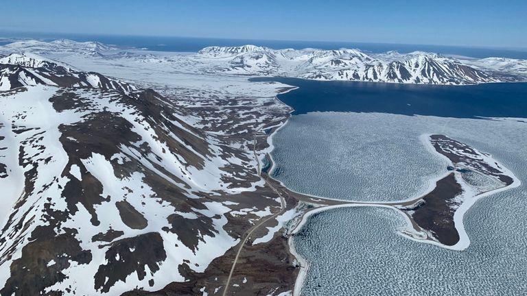M. Ketchell a capturé une image de la baie de Provideniya en Russie