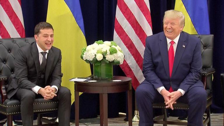 Donald Trump a parlé du potentiel de l'Ukraine au président du pays.