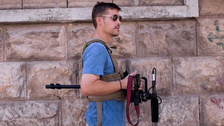 Jim Foley, assassiné par l'IS en 2014