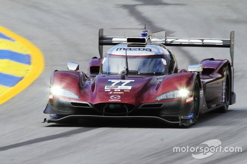 Joda Mazda DPi # 77: Oliver Jarvis, Tristan Nunez, Timo Bernhard