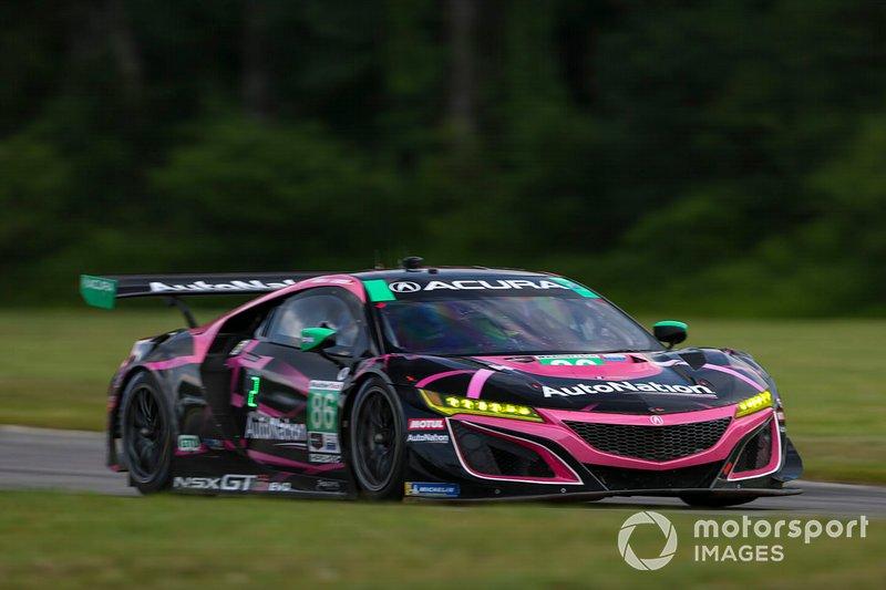 Meyer Shank Racing n ° 86 avec Acura NSX GT3, GTD Curb-Agajanian: Mario Farnbacher, Trent Hindman