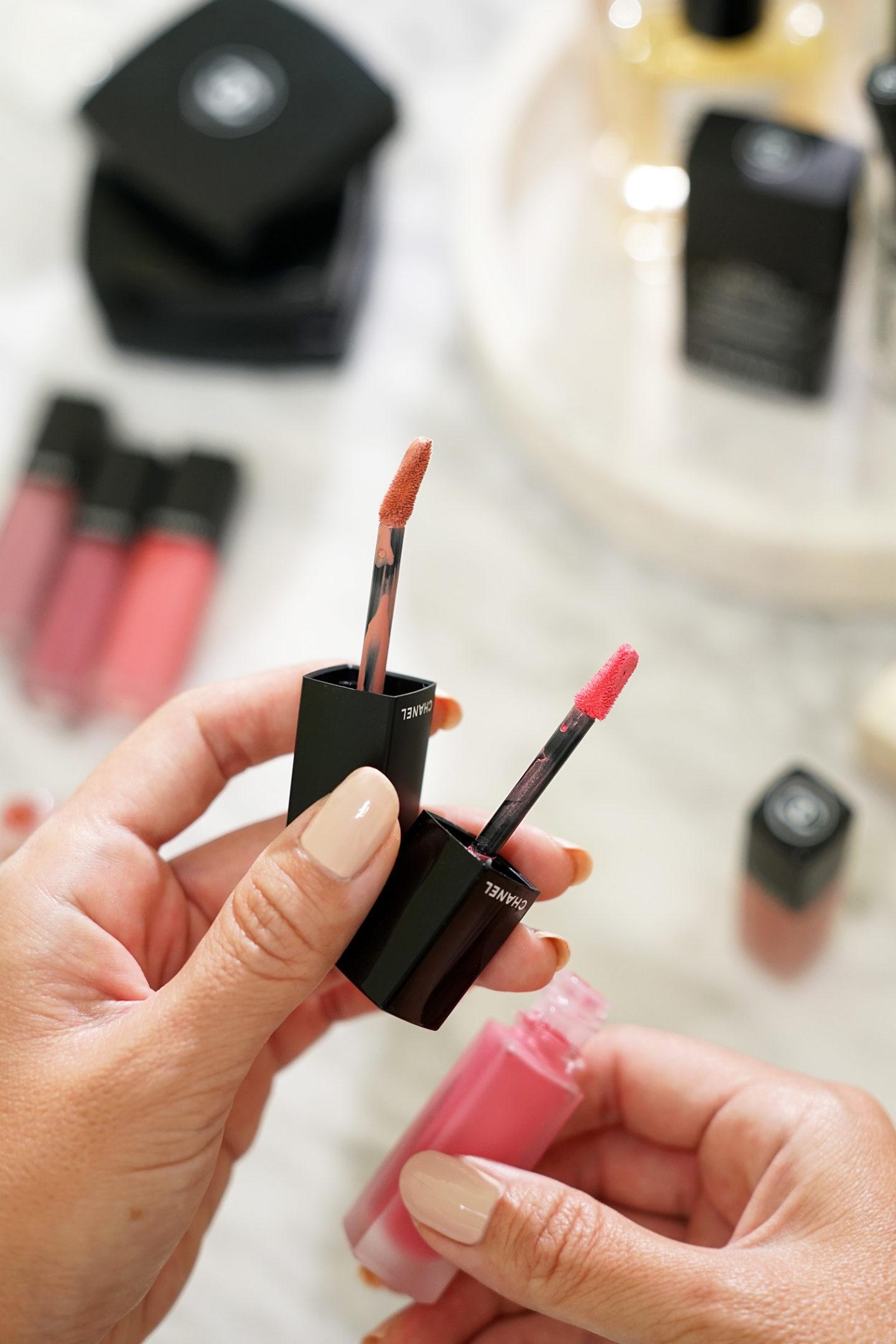 Chanel Rouge Allure Encre Fusion vs Rouge Allure Encre