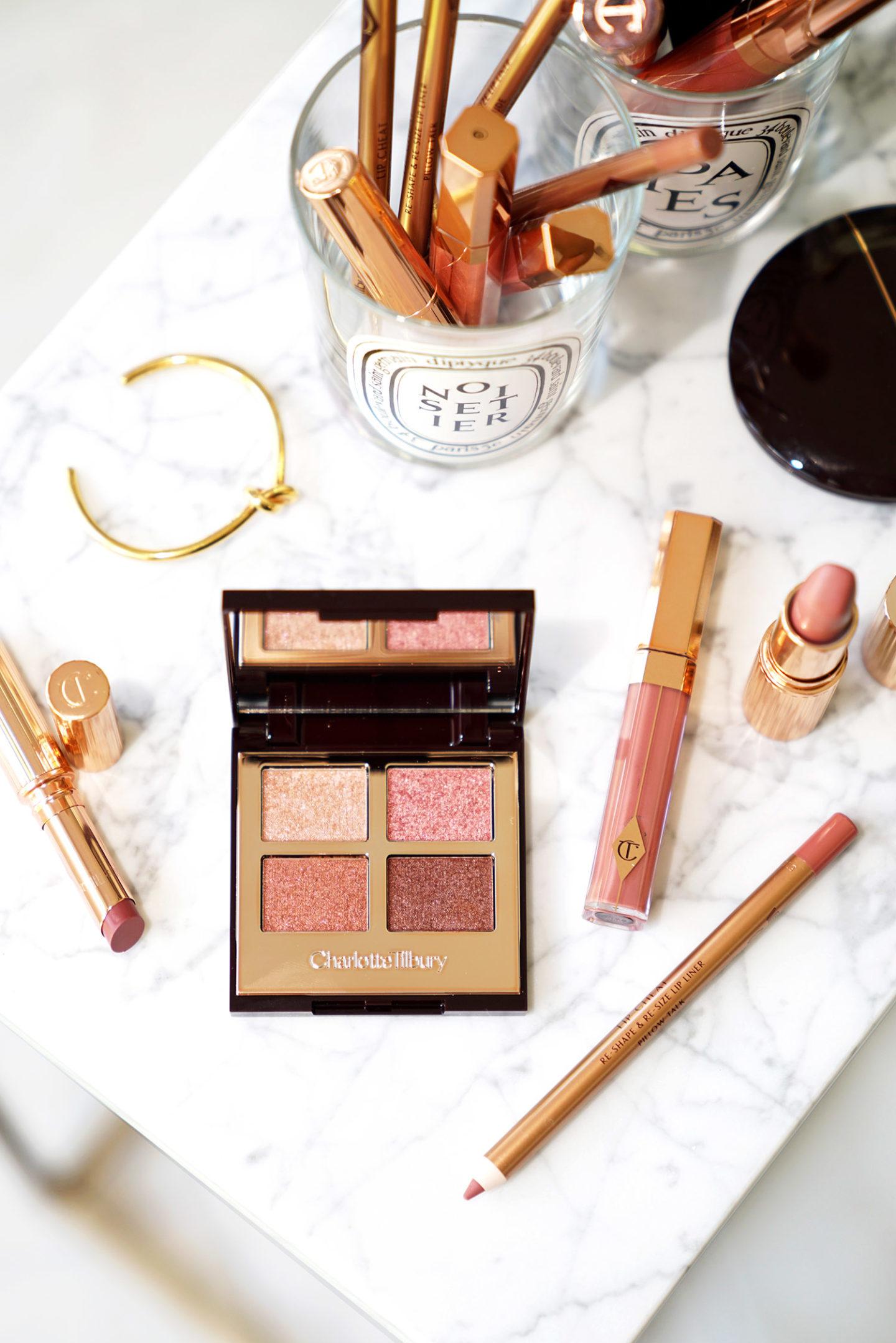 Charlotte Tilbury Palette de luxe de couleurs vives et brillant à lèvres