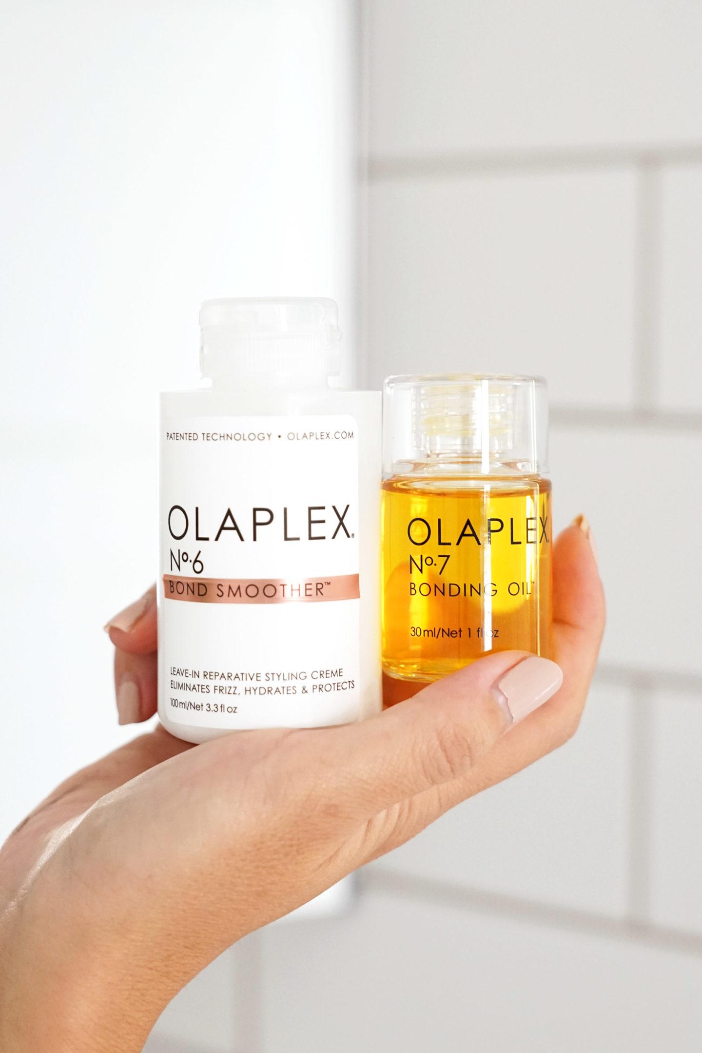 Olaplex No 6 Bond Smoother et No 7 Bonding Oil