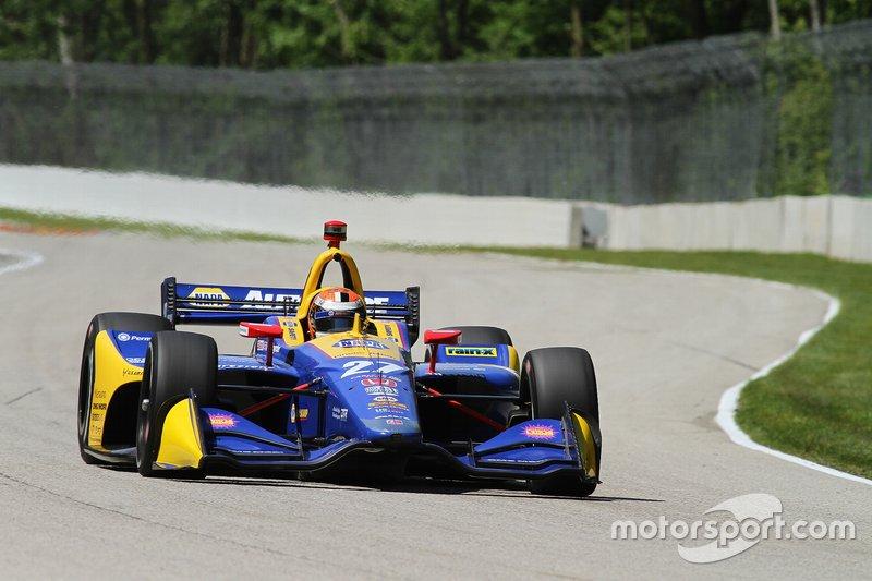 Andretti Autosport-Honda de Rossi a défait lopposition à Road America (photo) et à Long Beach.