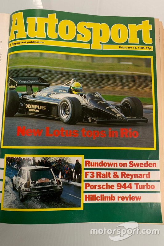 Titre autosport 1985