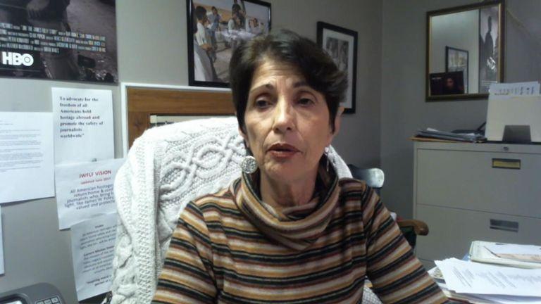 Le fils de Diane Foley, James, a été tué par l'Etat islamique