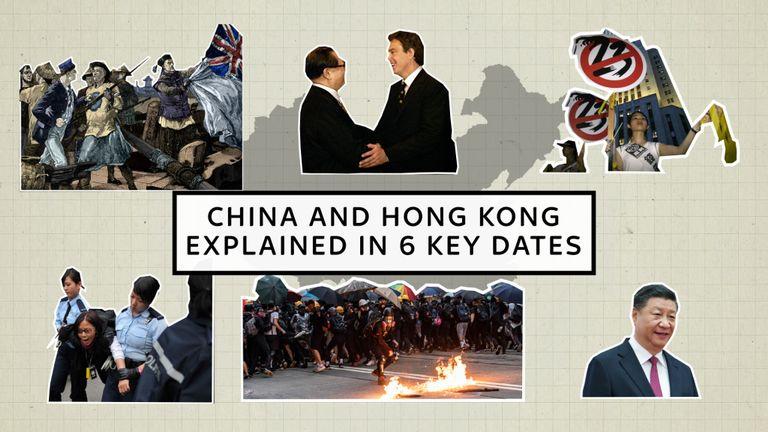 La relation entre Hong Kong et la Chine est à son plus bas niveau depuis des décennies. Ce sont les six moments que vous devez comprendre pour vraiment comprendre pourquoi c'est devenu un problème si important.