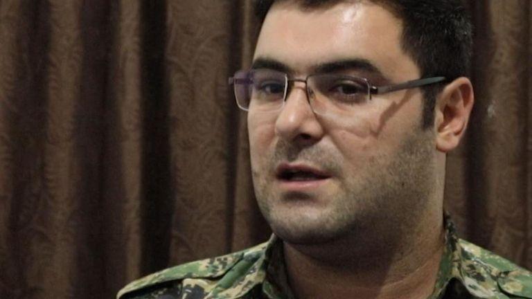Kino Gabriel des Forces démocratiques syriennes s'entretient avec Sky News