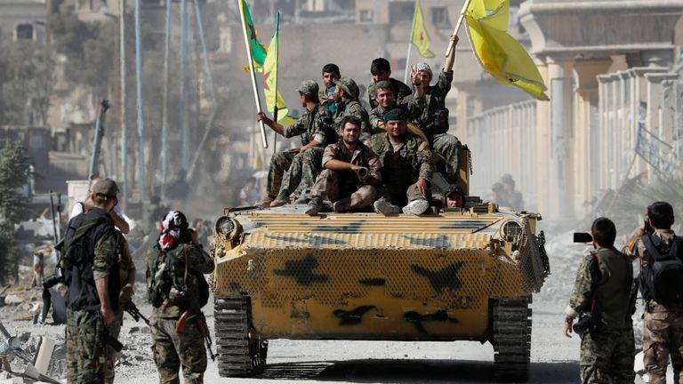 Raqqa a été libéré de l'emprise de l'EI