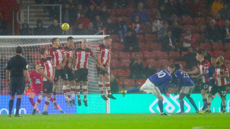 Southampton n'a pas empêché Leicester de marquer neuf buts