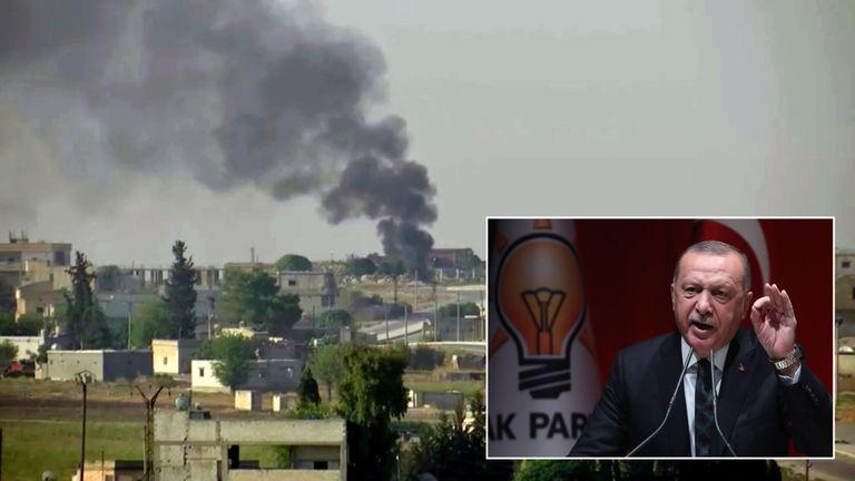 Le président turc Recep Tayyip Erdogan a déclaré qu'il ne s'arrêterait pas. l'opération contre les Kurdes, peu importe ce que quelqu'un dit & # 39;