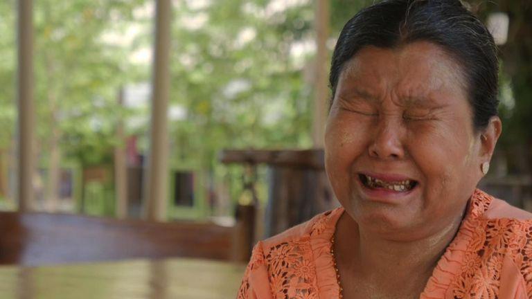 Phyu Shwe Nu a plaidé pour que son fils ne soit pas tué