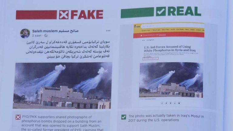 La Turquie a réfuté certaines des images qui circulaient sur les attentats