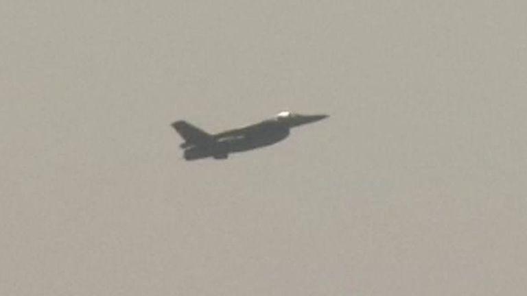 Avion de chasse turc