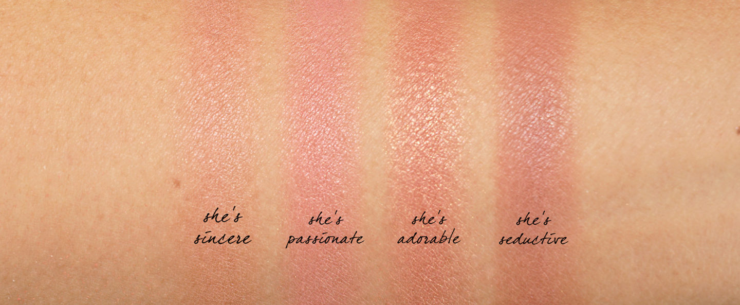 Patrick Ta Velvet Blush Swatches
