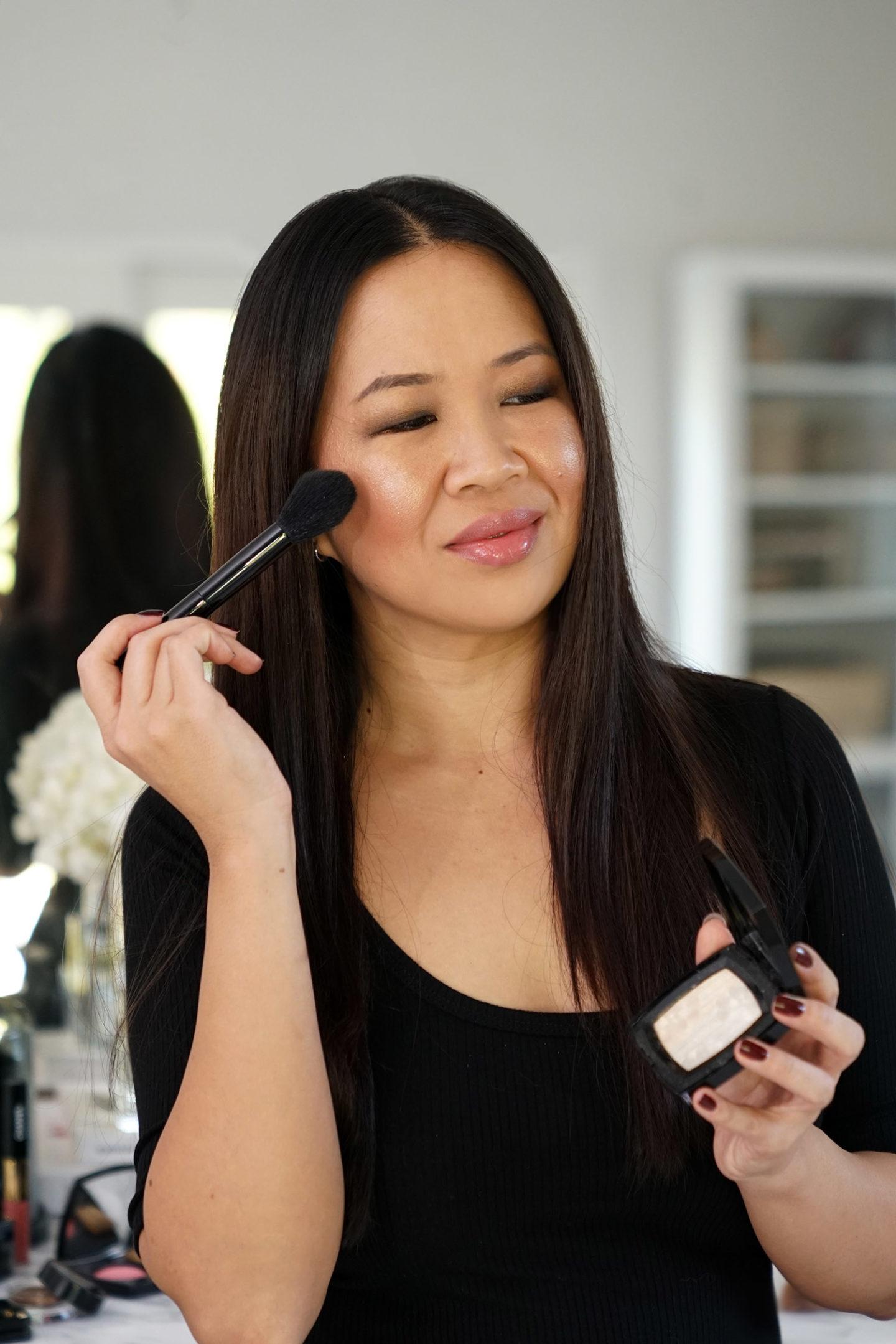 Chanel Duo de Camelias Surligneur maquillage