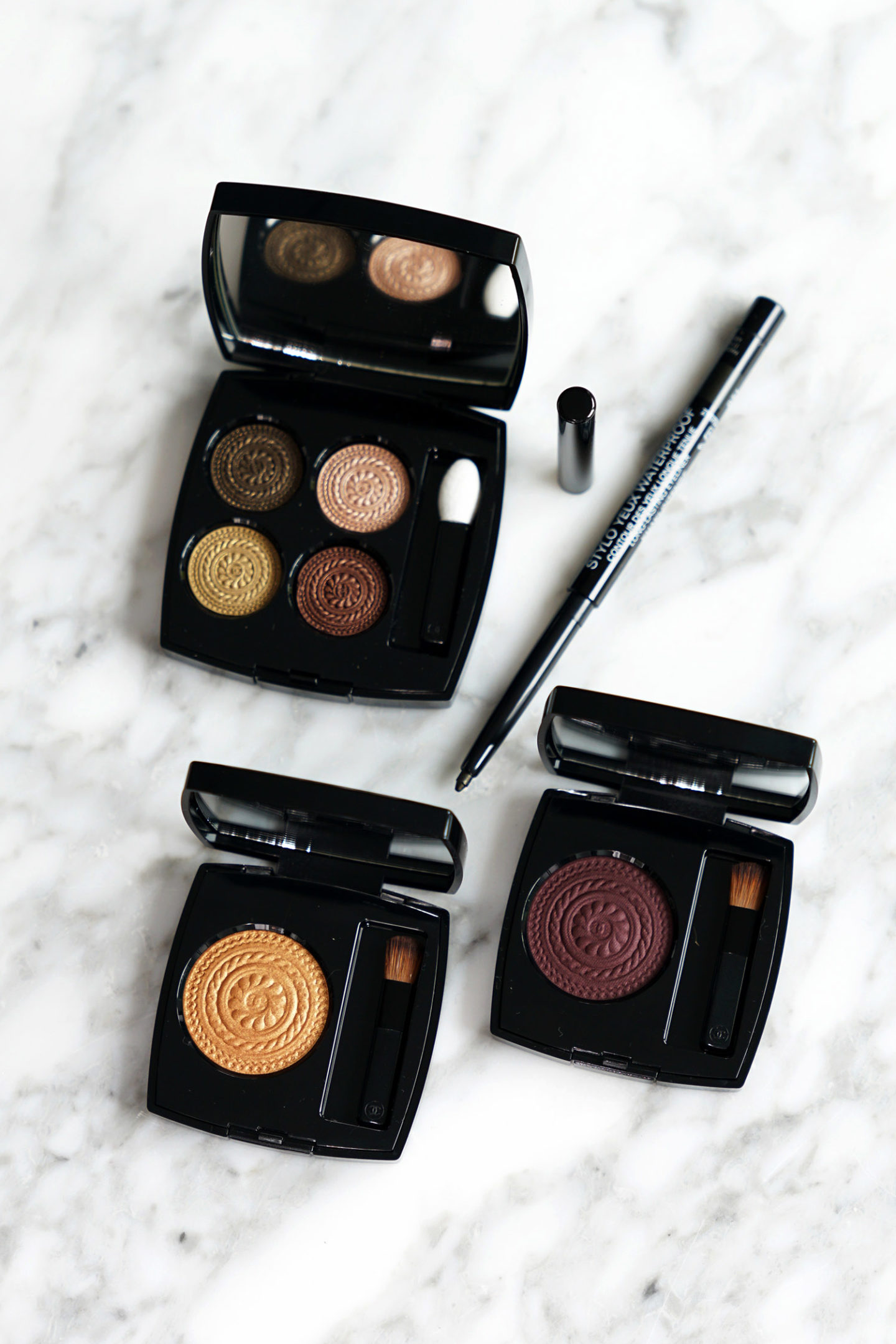 Maquillage des yeux Chanel Holiday 2019