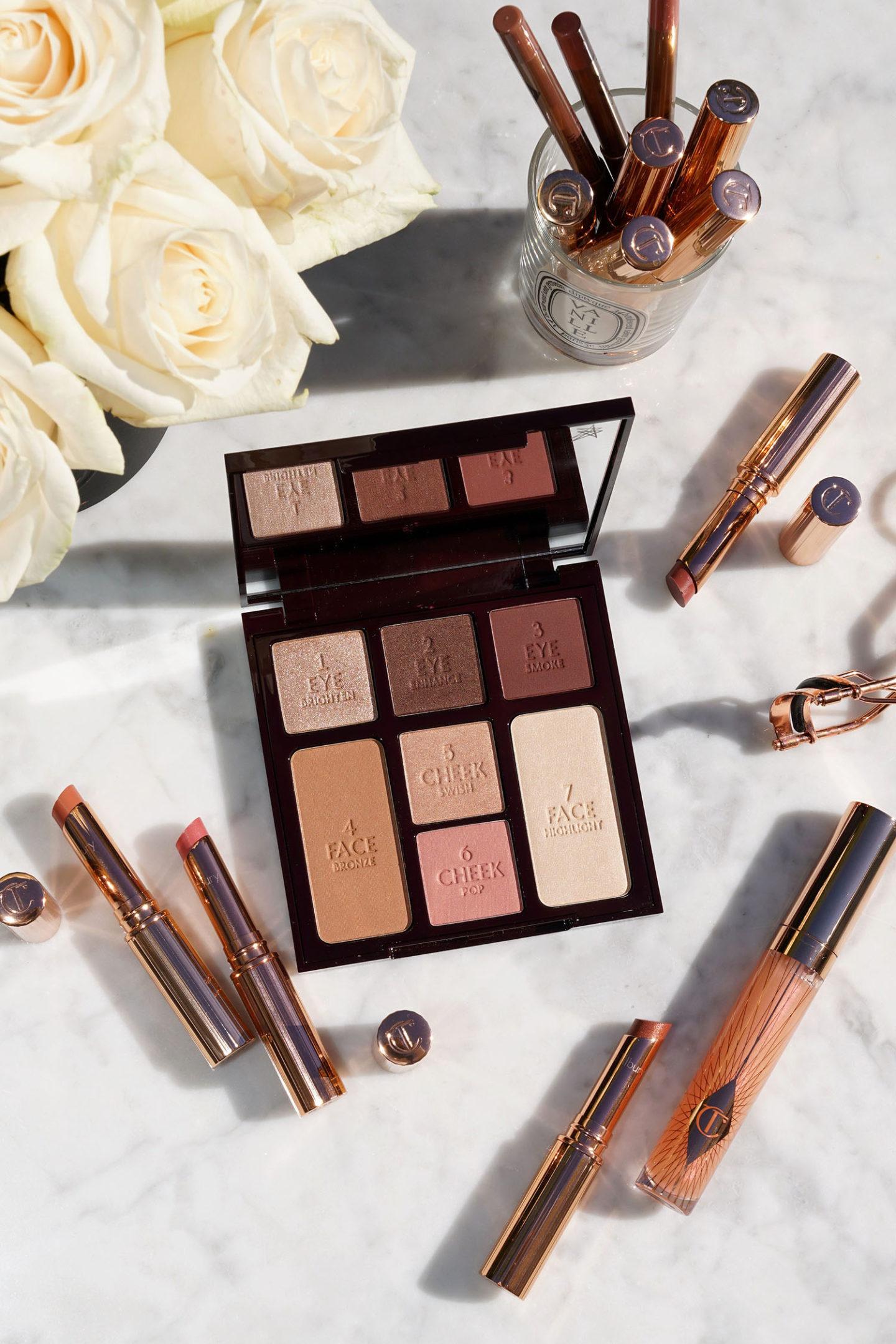 Charlotte Tilbury - Palette de beauté éclatante et magnifique - Nouvelles lèvres de la superstar