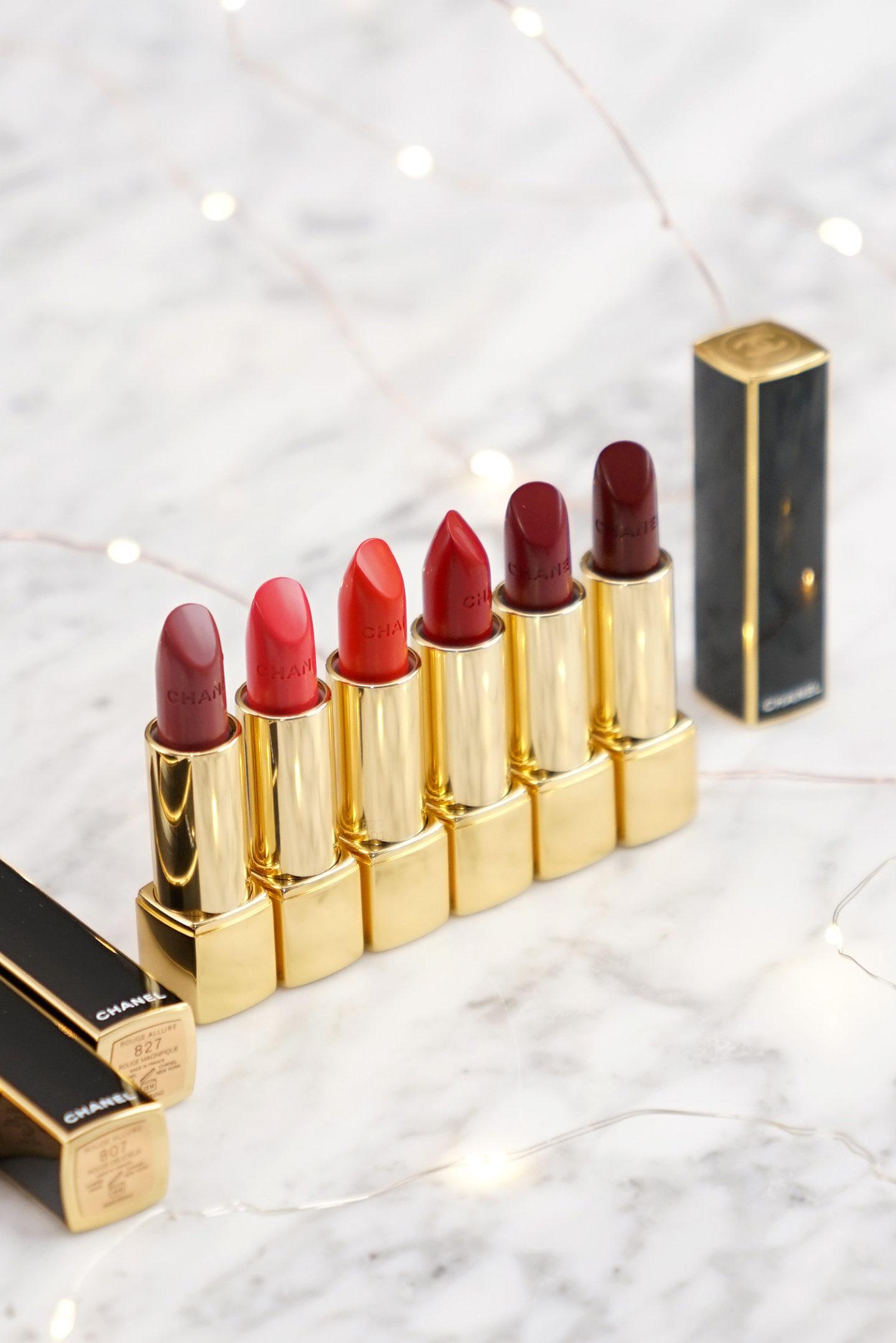 Rouge à lèvres Chanel Holiday 2019 Rouge Allure