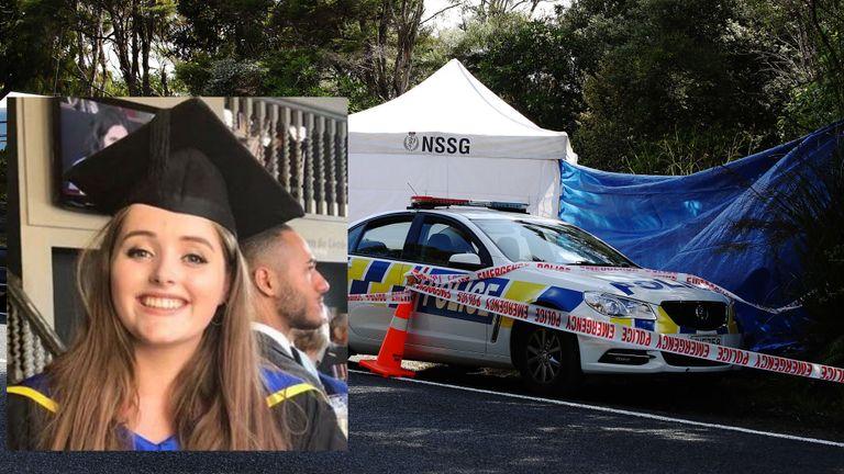 Auckland, Nouvelle-Zélande - 9 décembre: la scène où le corps de la touriste britannique Grace Millane a été retrouvé par la police néo-zélandaise dans les Waitakere Ranges le 09 décembre 2018 à Auckland, en Nouvelle-Zélande. La police a enquêté sur la disparition de la Britannique britannique Grace Millane, âgée de 22 ans, qui avait été vue pour la dernière fois le samedi 1er décembre à Auckland. (Photo par Hannah Peters / Getty Images)