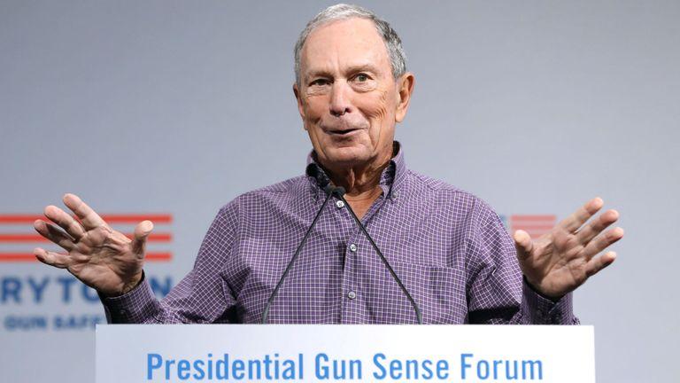 M. Bloomberg est un partisan du contrôle des armes à feu