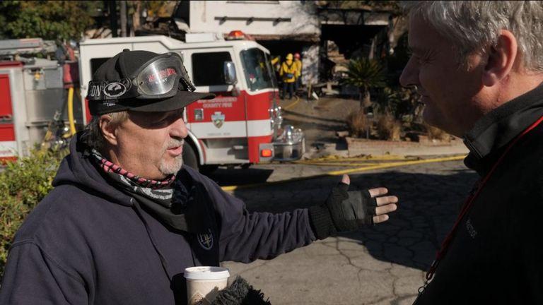 Tony Marzullo dit que les incendies ont un esprit qui leur est propre et # 39;