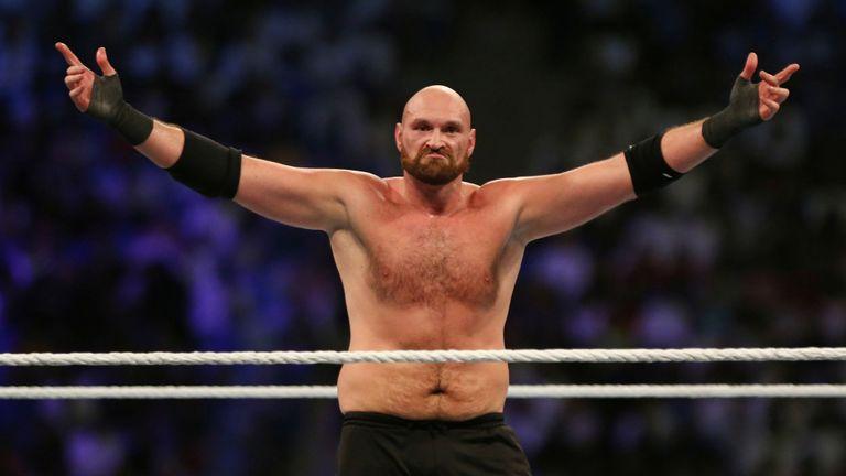 Fury aurait reçu 12 millions de £ pour son apparition à la WWE