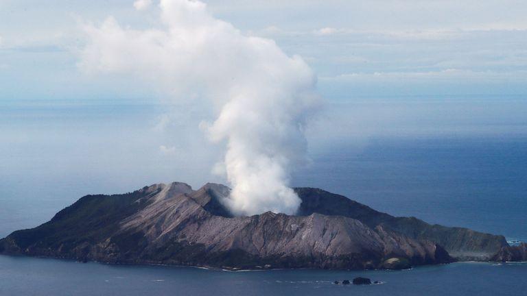 Éruption volcanique en Nouvelle-Zélande