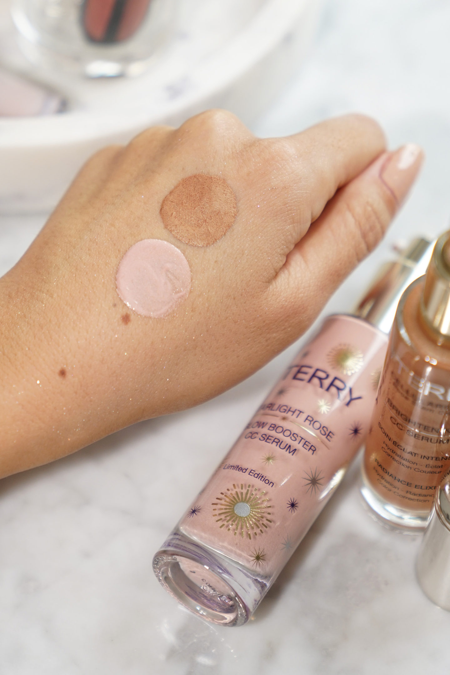 Par Terry CC Serums Échantillons Starlight Rose et Sunny Flash