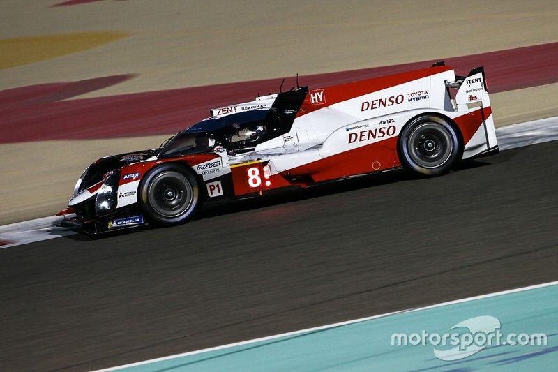 # 8 Toyota Gazoo Racing Toyota TS050 - Hybride: Sébastien Buemi, Kazuki Nakajima, Brendon Hartley