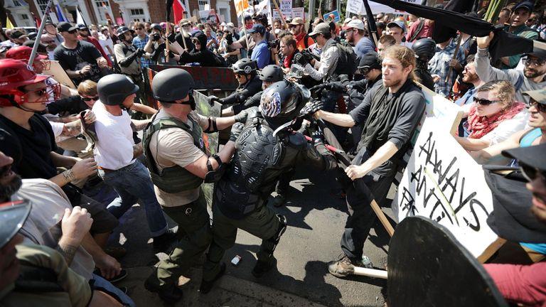 Violence à Charlottesville