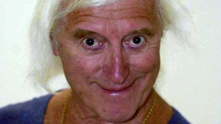 Jimmy Savile, photographié en 2000