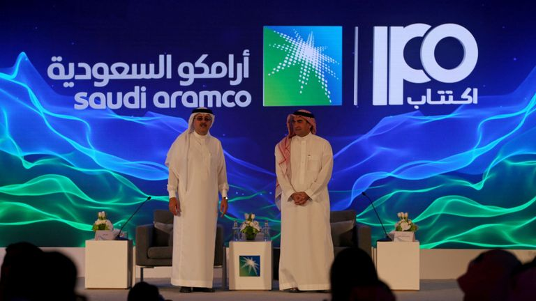 Introduction en bourse d'Aramco