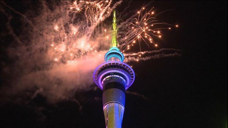 Feux d'artifice de Nouvelle-Zélande