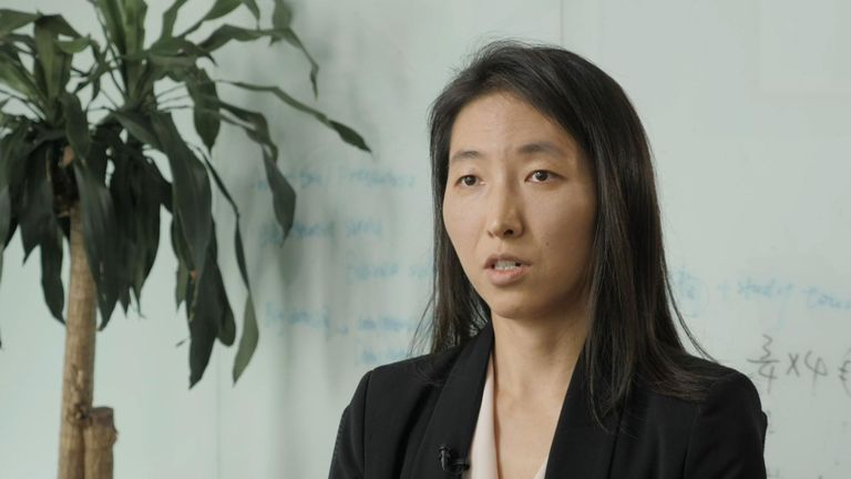 Dan Wang, analyste à l'Economist Intelligence Unit de Pékin