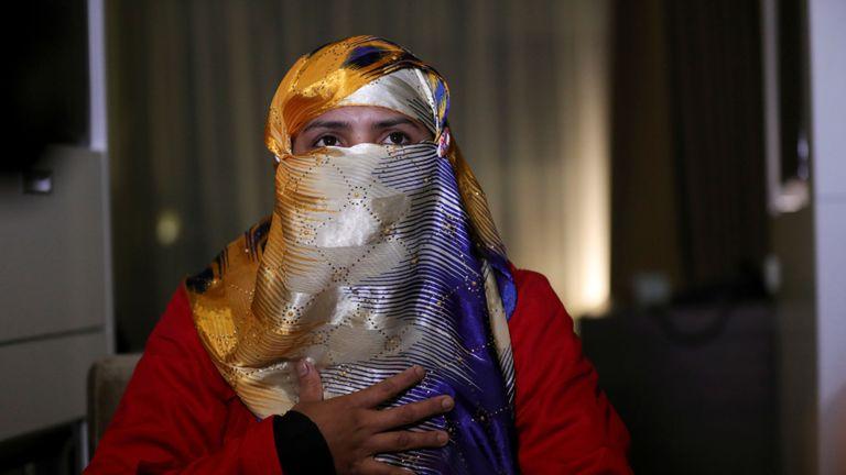 Hasina Begum a déclaré qu'elle faisait partie des nombreuses femmes violées par des soldats du Myanmar