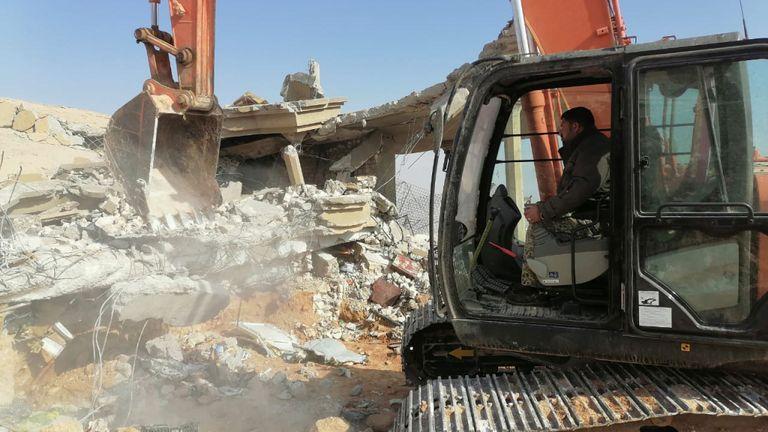 Le quartier général de la milice du Kezib Hezbollah a été pris pour cible lors d'une frappe aérienne