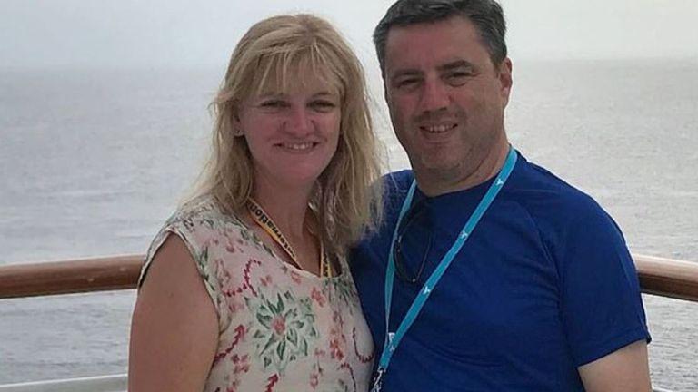 Anthony et Kristine Langford et leurs deux adolescents font partie des disparus