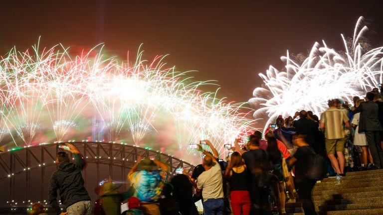 Plus d'un million de personnes sont descendues dans le port de Sydney pour célébrer