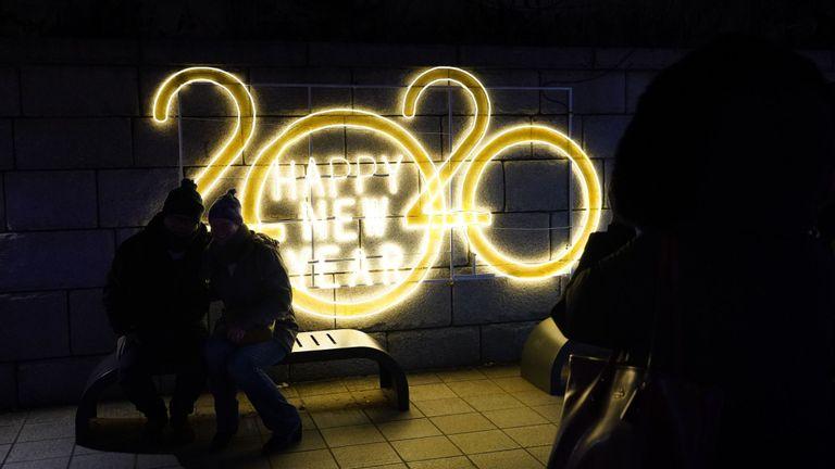 Les gens se préparent à célébrer la nouvelle année à Séoul