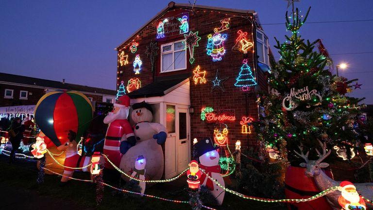 Vue générale de la maison de Stan Yanetta à South Tyneside