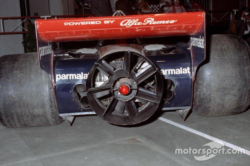 Le ventilateur controversé sur une Brabham BT46B Alfa Romeo