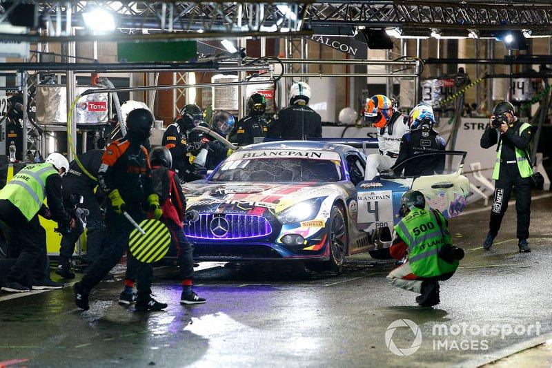 # 4 Mercedes-AMG Team Black Falcon Mercedes-AMG GT3: Yelmer Buurman, Luca Stolz, Maro Engel