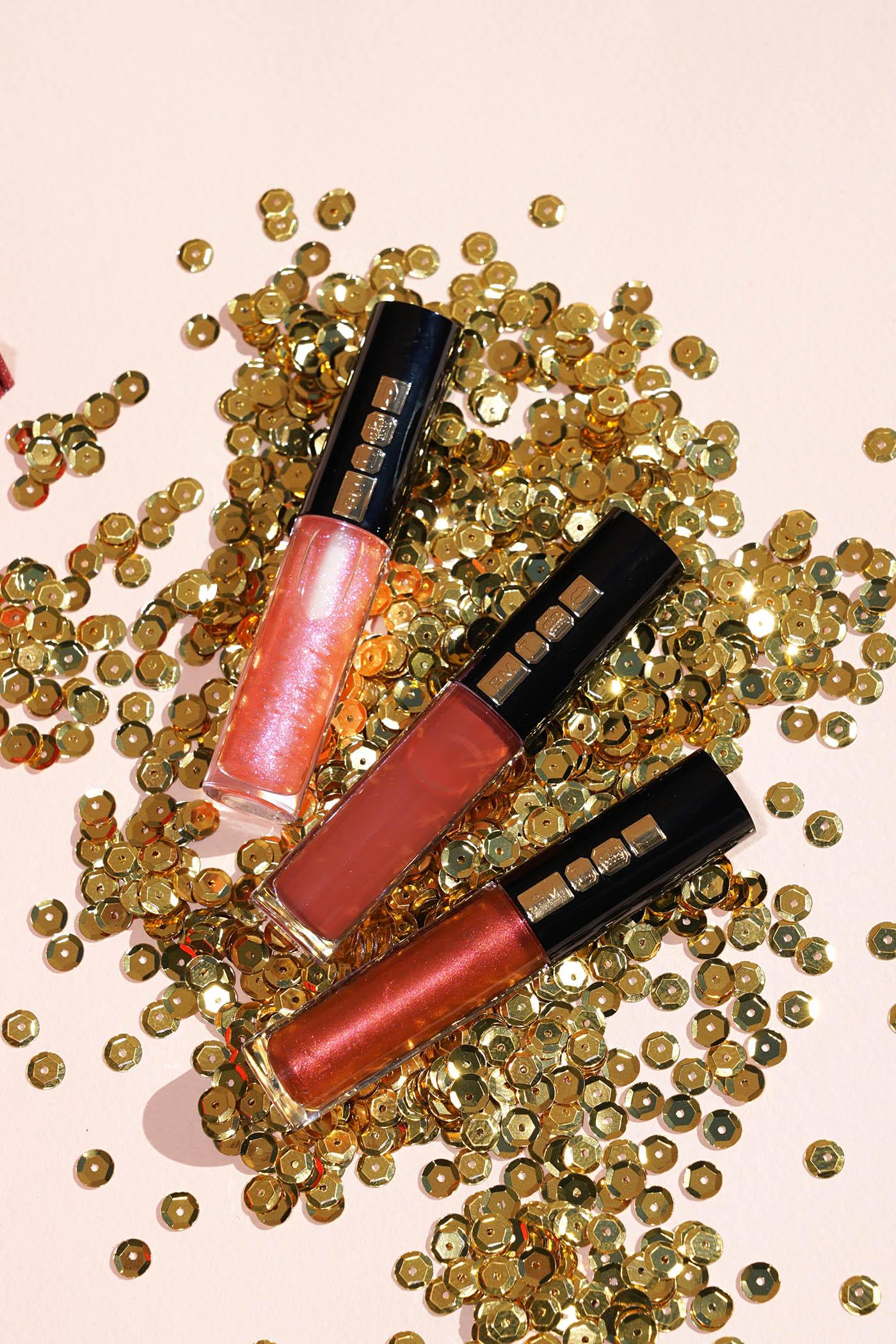 Pat McGrath Trio de brillants à lèvres Bronze Opulence Mini