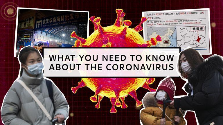 Tom Cheshire de Sky explique ce que vous devez savoir sur le coronavirus