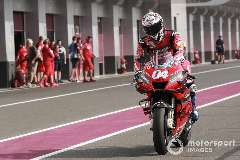 Andrea Dovizioso, équipe Ducati