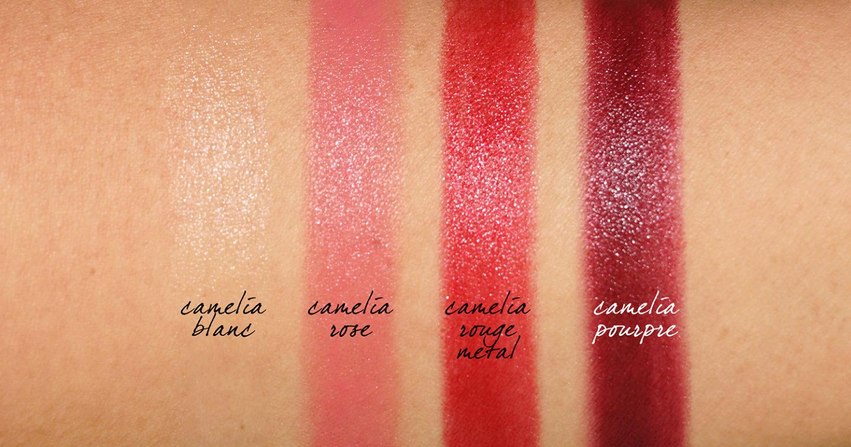 Rouge à lèvres lumineux Chanel Rouge Allure Camelia